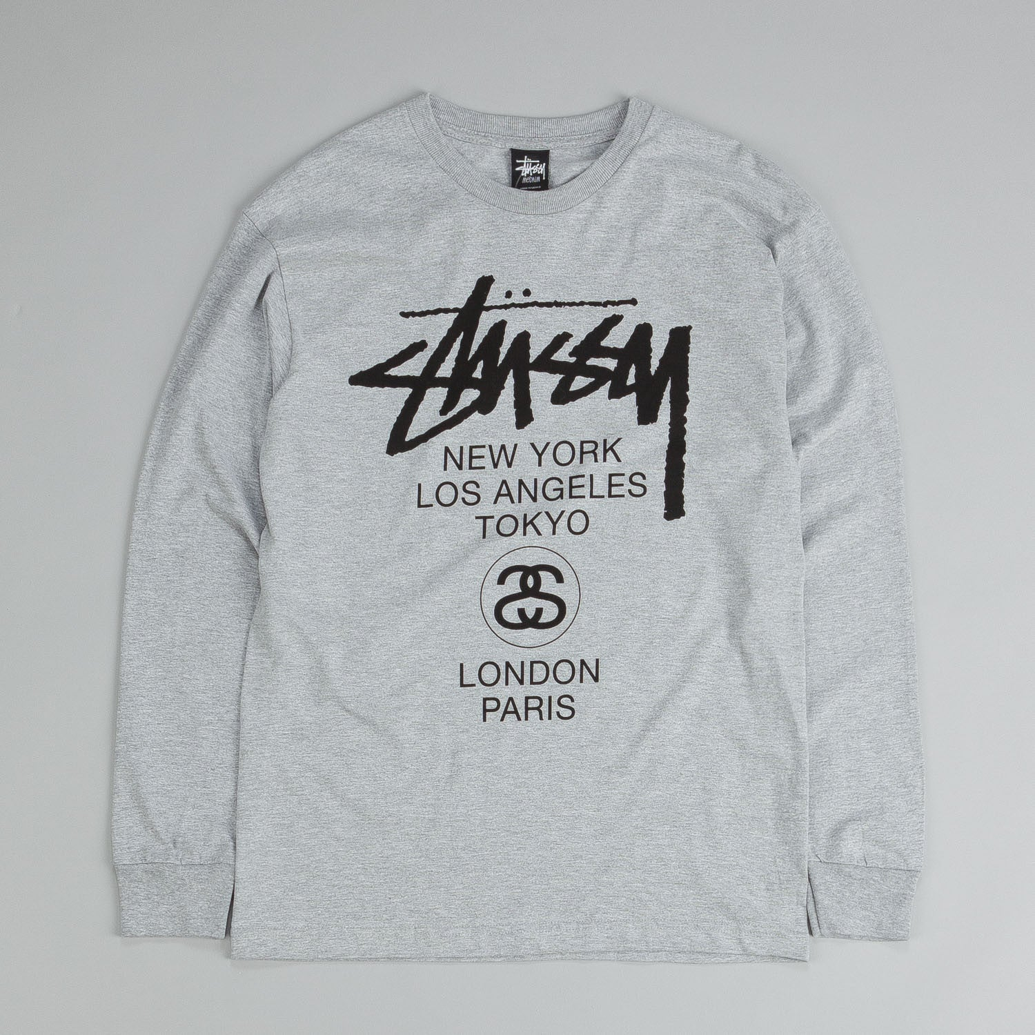 Stussy World Tour Long Sleeve T Shirt