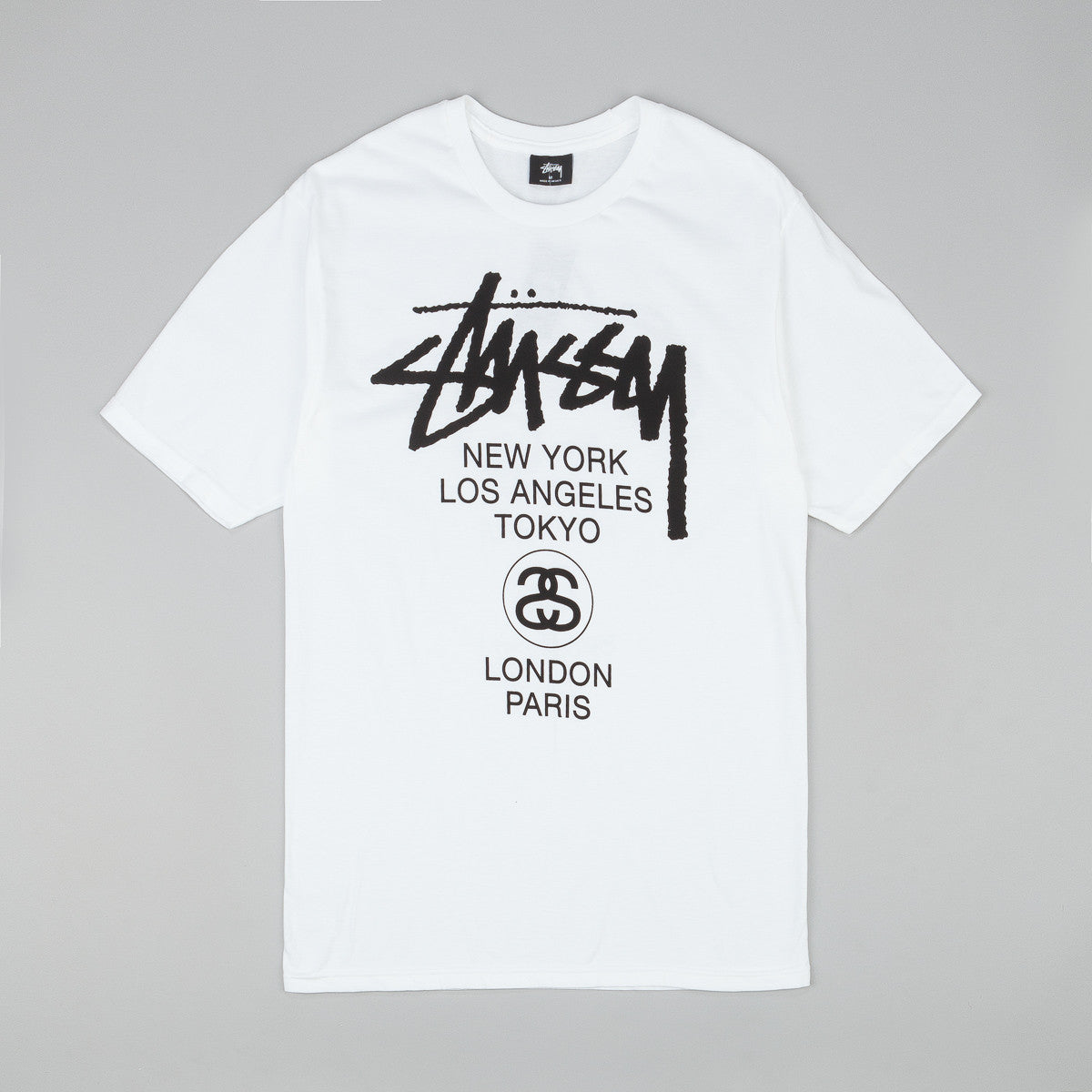 Stussy World Tour T-Shirt Fa15 - White