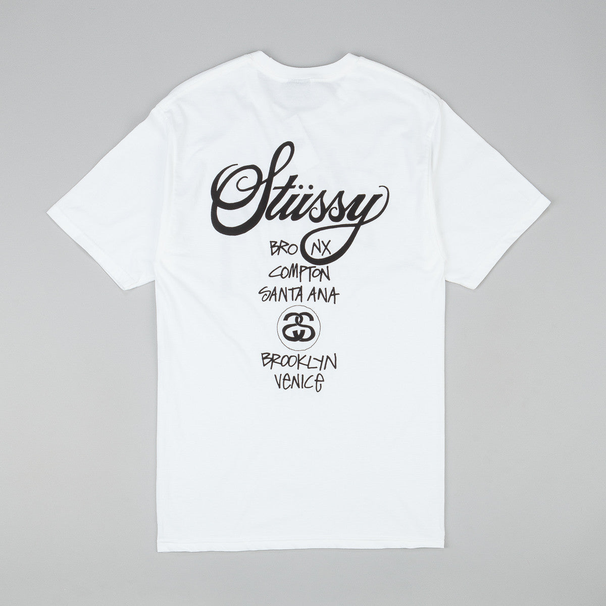 Stussy World Tour T-Shirt - White