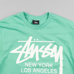 Stussy World Tour T-Shirt - Green