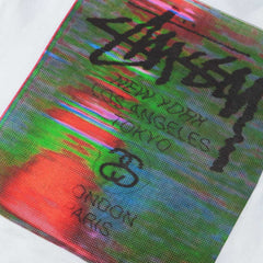 Stussy WT Glitch T-Shirt - White