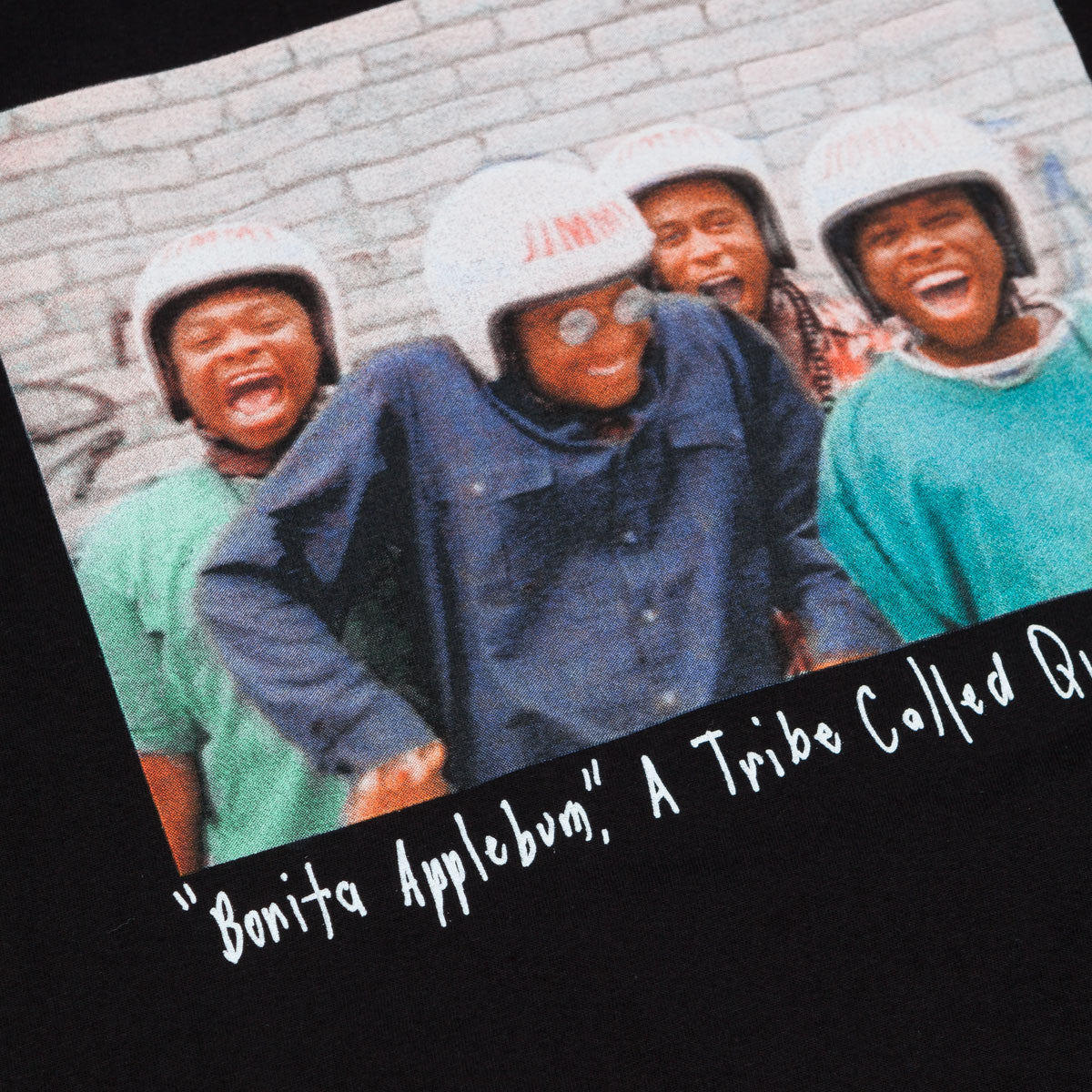 Stussy x ATCQ Bonita Applebum T-Shirt Black