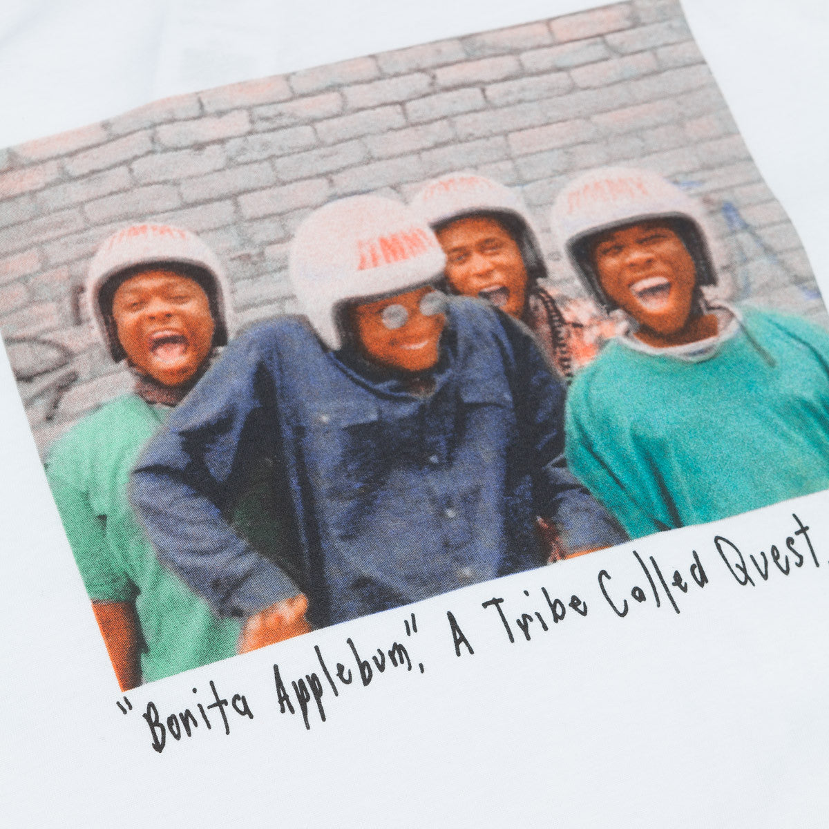 Stussy x ATCQ Bonita Applebum T-Shirt White