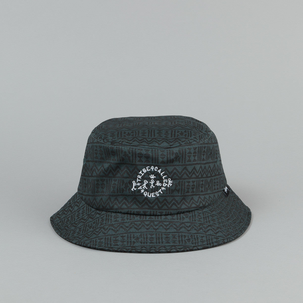 Stussy x ATCQ Bucket Hat Forest