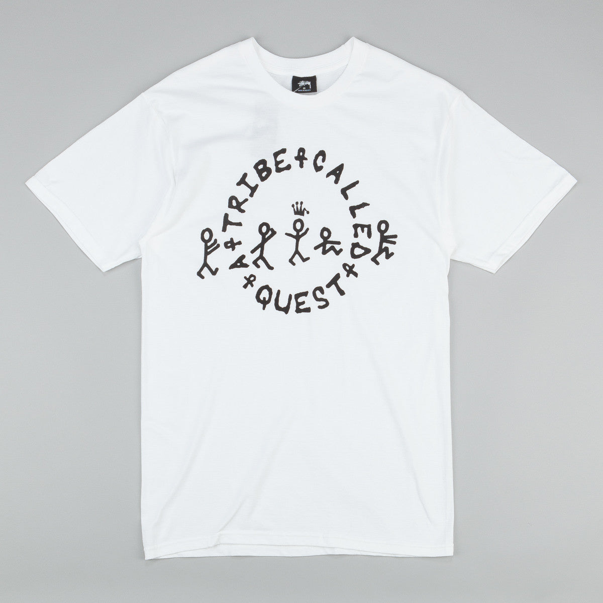 Stussy x ATCQ Quest Circle T-Shirt White