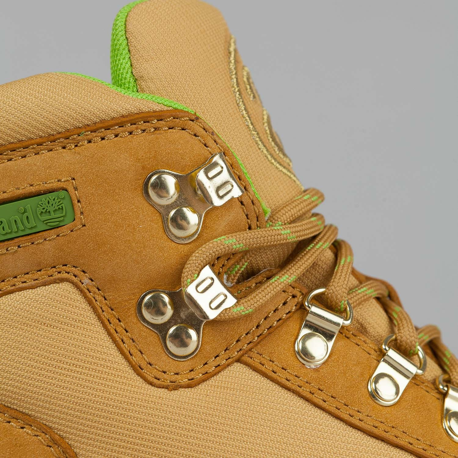 Stussy X Timberland Euro Hiker Boot Wheat