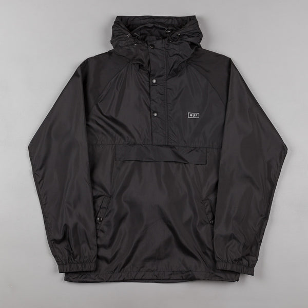 HUF Adapt Packable Anorak Jacket - Black