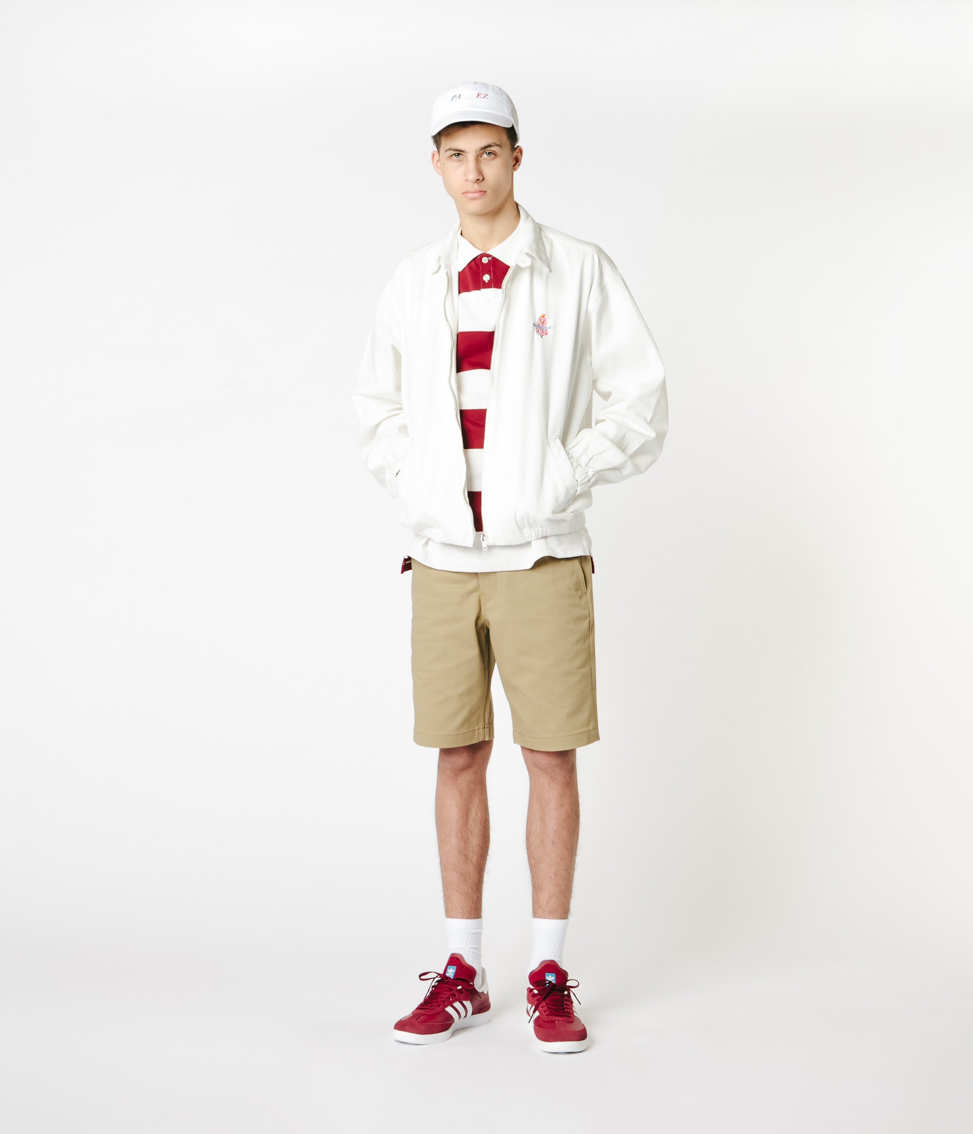 Yardsale Harrington Jacket - White