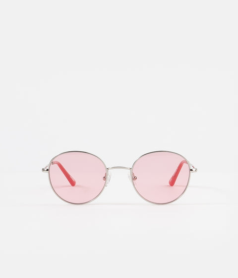 Sun Buddies Ozzy Sunglasses - Silver / Twizzlers Red