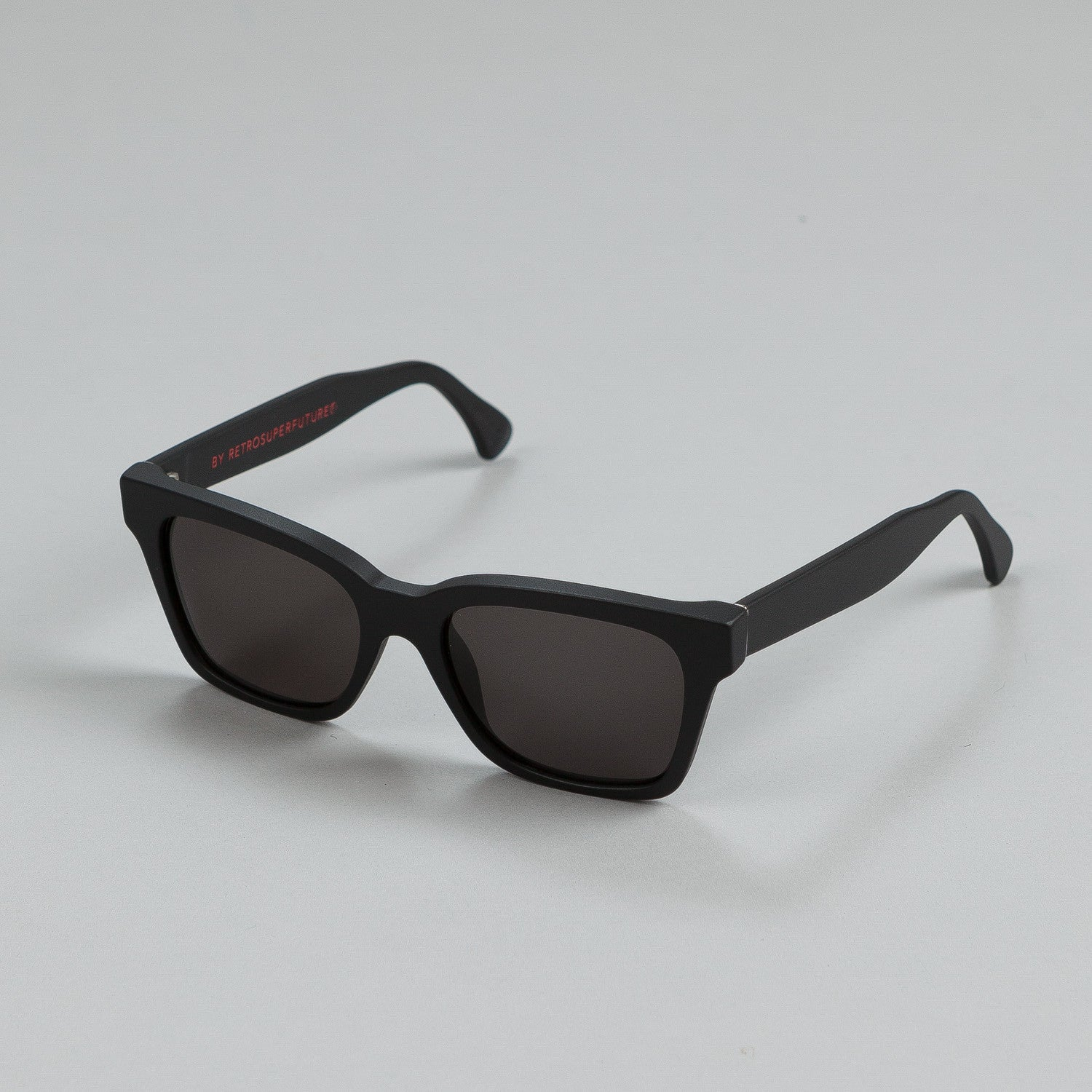 Super Sunglasses America Black Matte