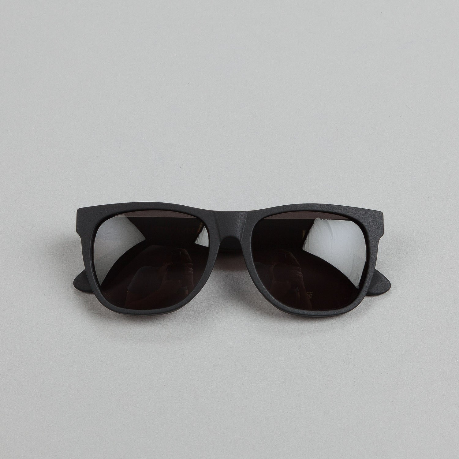 Super Sunglasses Classic Black Matte