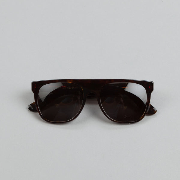 Super Sunglasses Flat Top Havana