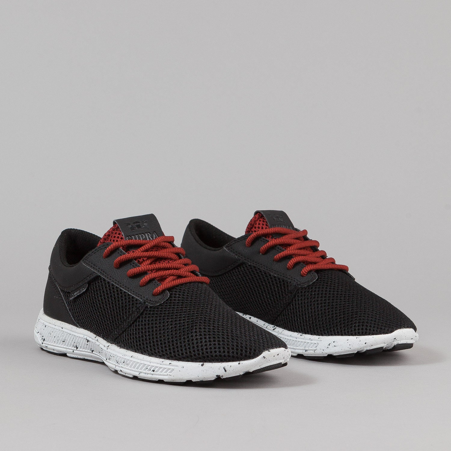 Supra Hammer Run Shoes - Black / Burnt Henna / White