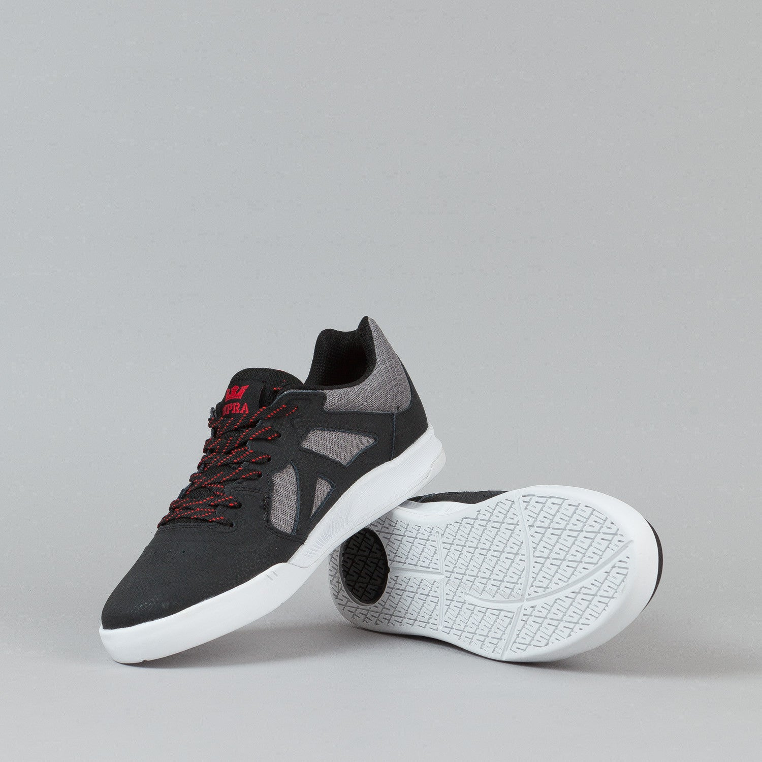 Supra Avex Shoes - Black / Grey / Red
