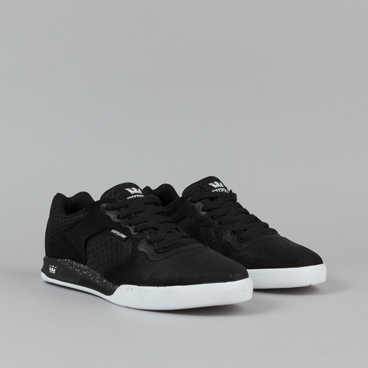 Supra Avex Shoes - Black / White