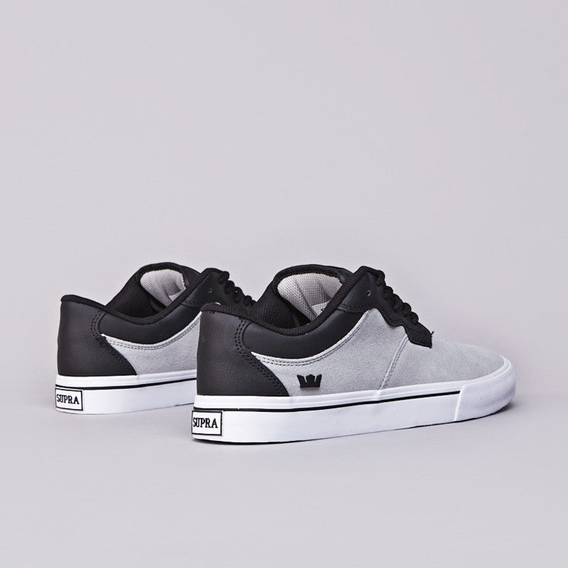 Supra Axle Low Grey / Black - White