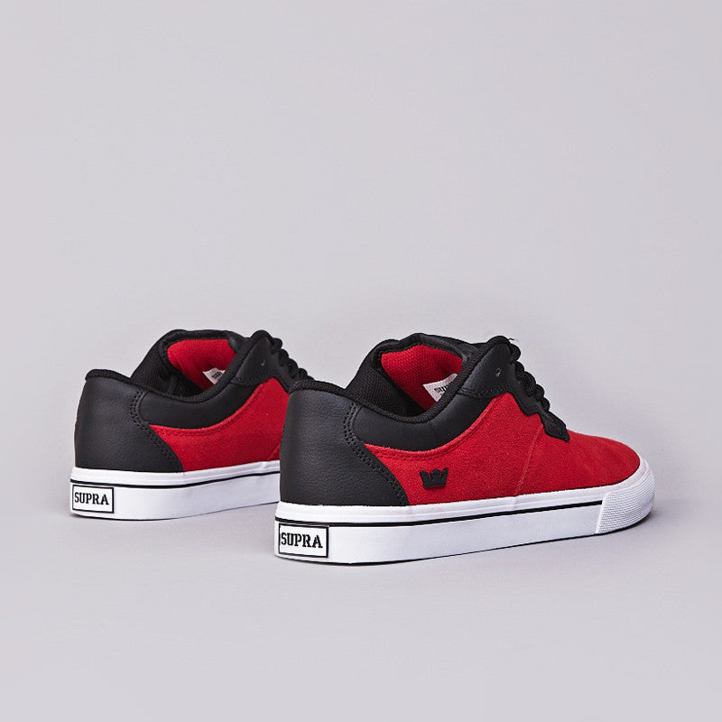 Supra Axle Low Red / Black - White