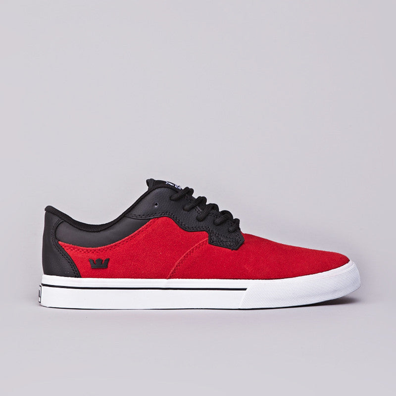 Supra Axle Low Red / Black