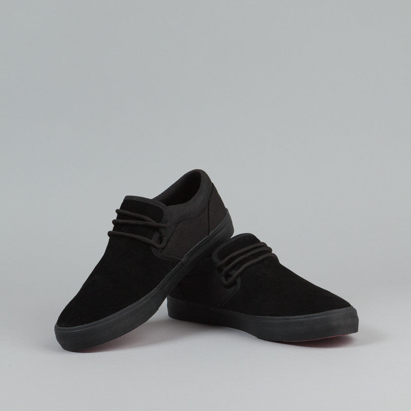 Supra Cuba Shoes - Black / Black