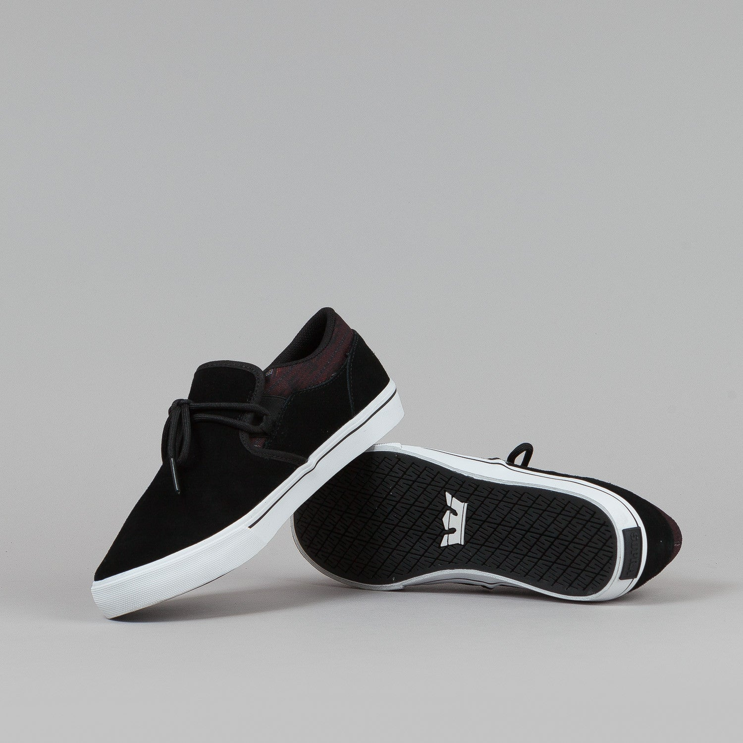 Supra Cuba Shoes - Black / Southwest / White
