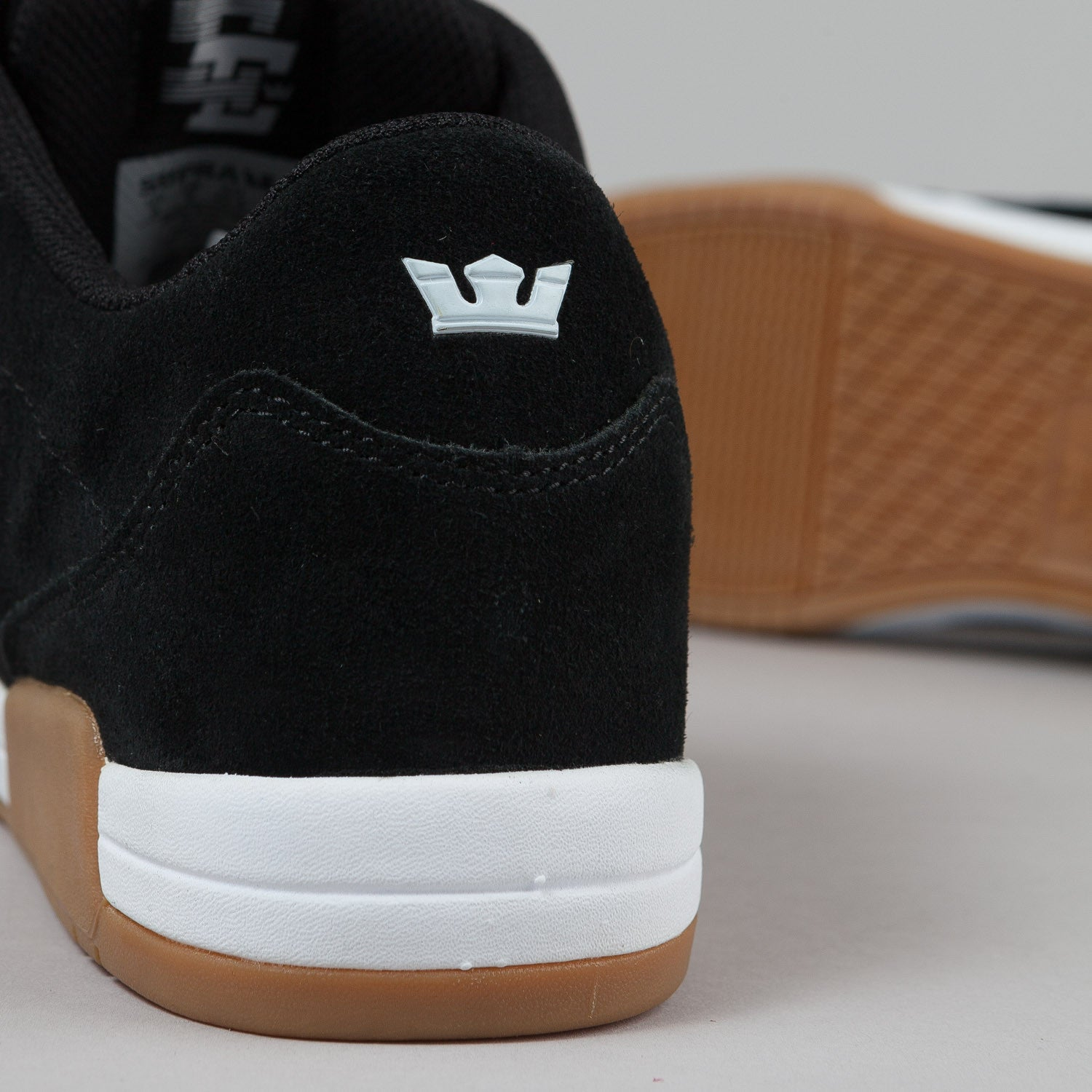 Supra Ellington Black / Gum