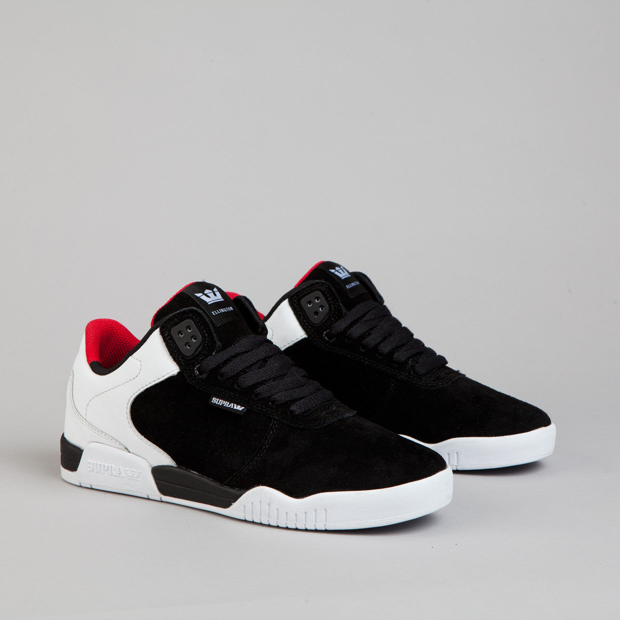 Supra Ellington Black / White - Red