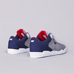 Supra Ellington Grey / Navy - White