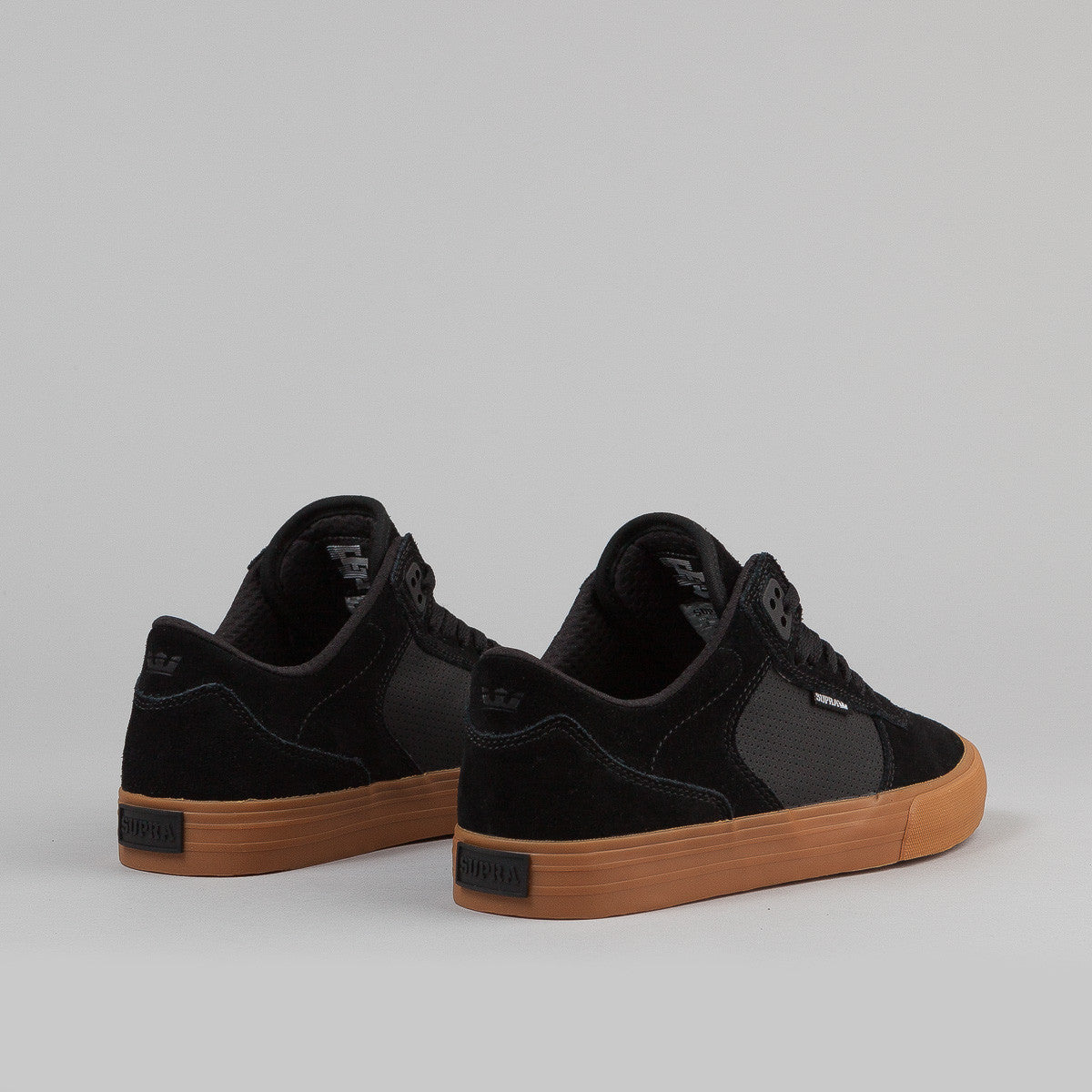Supra Ellington Vulc Shoe - Black / Gum