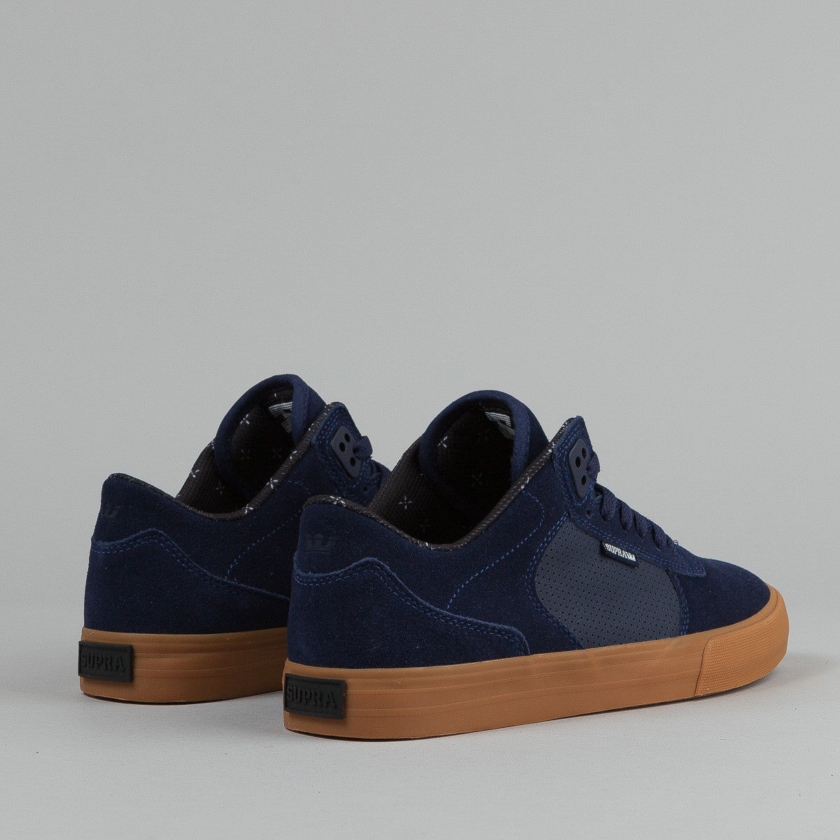 Supra Erik Ellington Vulc Shoes - Navy - Gum