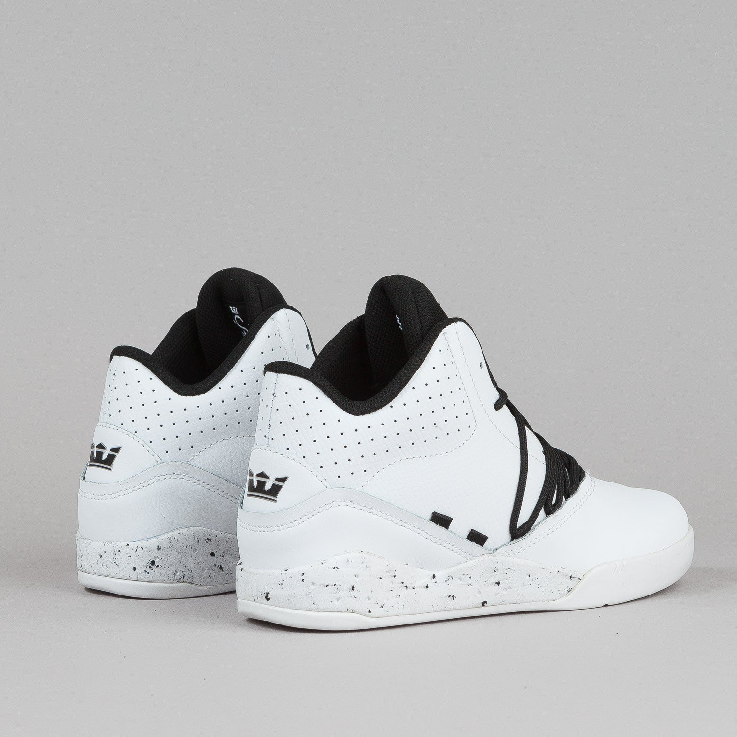 Supra Estaban Shoes - White / Black / White