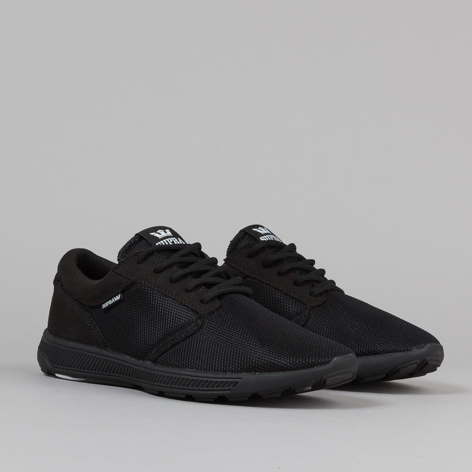 Supra Hammer Run Shoes - Black / Black / Black