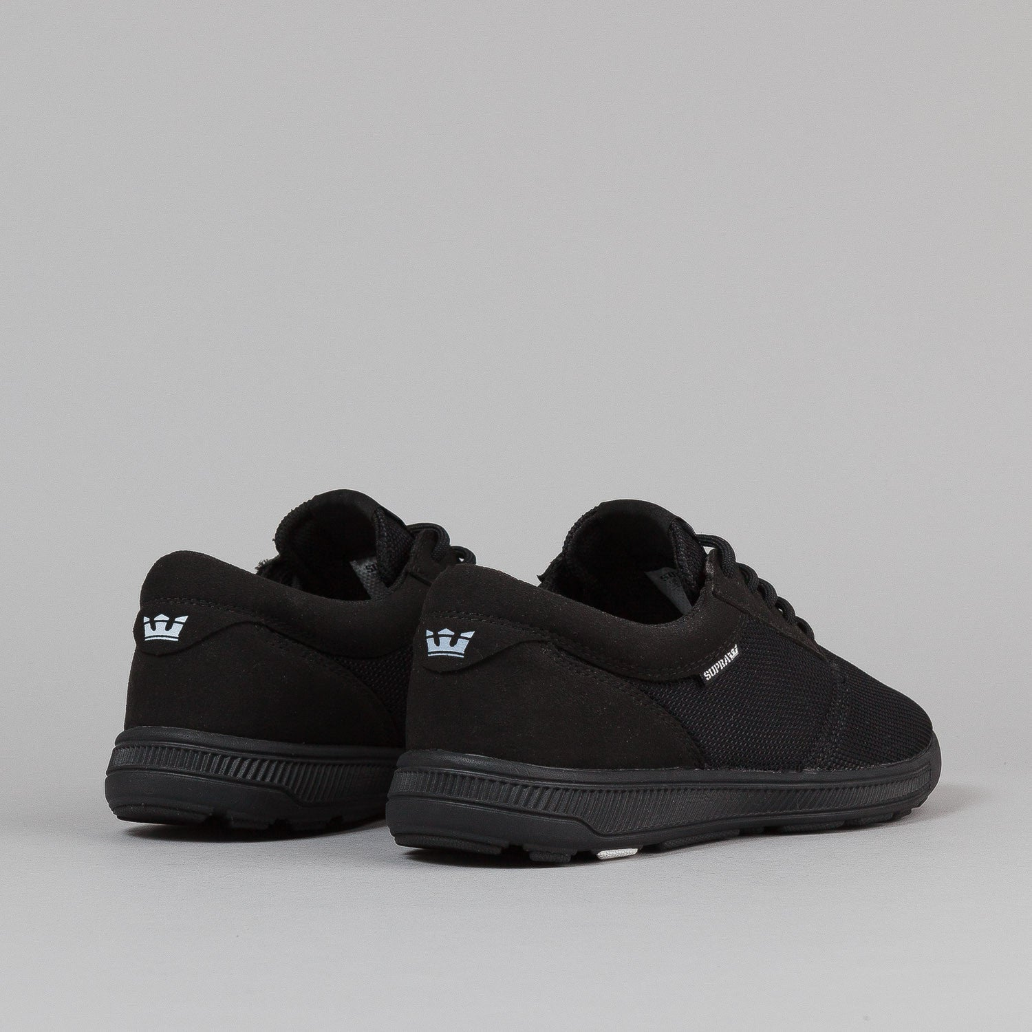 Supra Hammer Run Shoes - Black / Black / Black ...