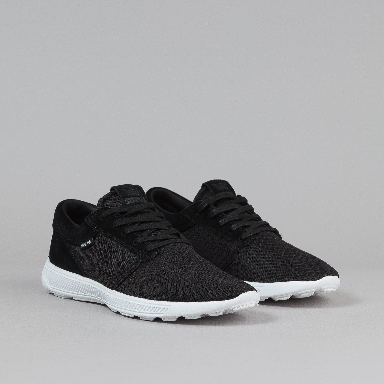 Supra Hammer Run Shoes - Black / White