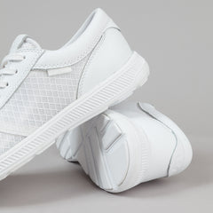 Supra Hammer Run Shoes - White / White