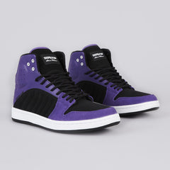 Supra S1W Black / Purple - White / Black
