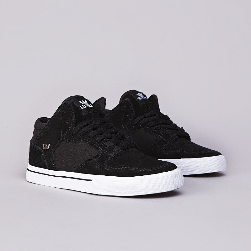 Supra Shotgun Black / Black - White