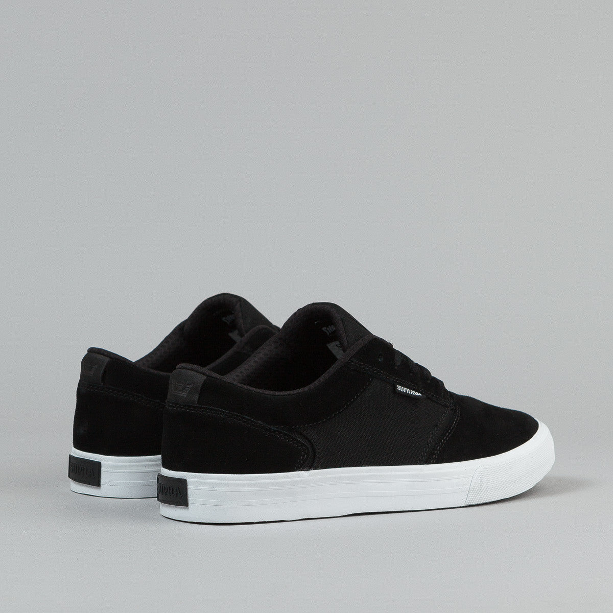 Supra Shredder Shoes Black - White