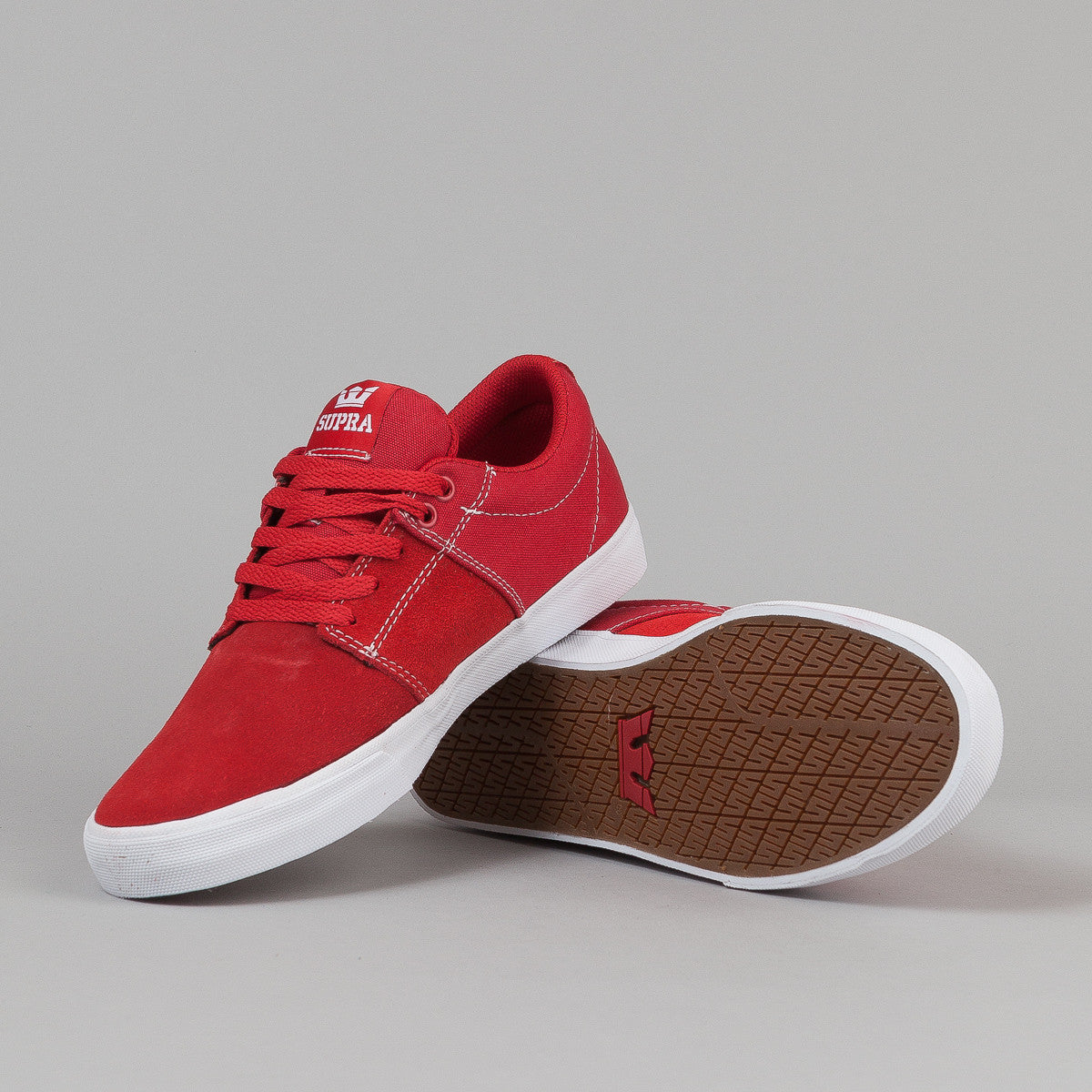 Supra Stacks Vulc 2 Red / White