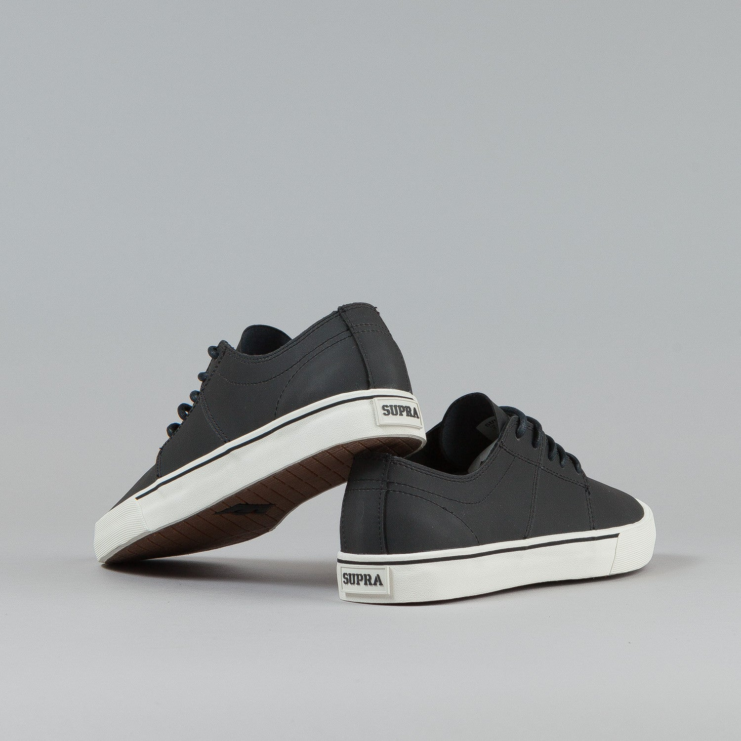 Supra Stacks Vulc II - Black / Black / Off White
