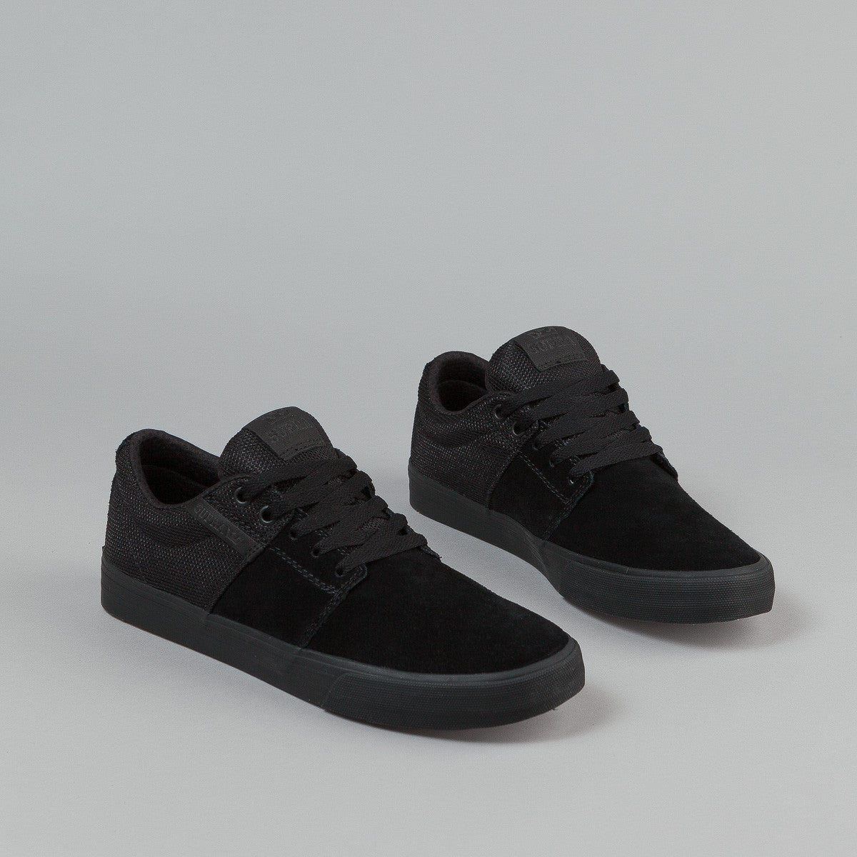 Supra Stacks Vulc II Shoes - Black / Black / Black