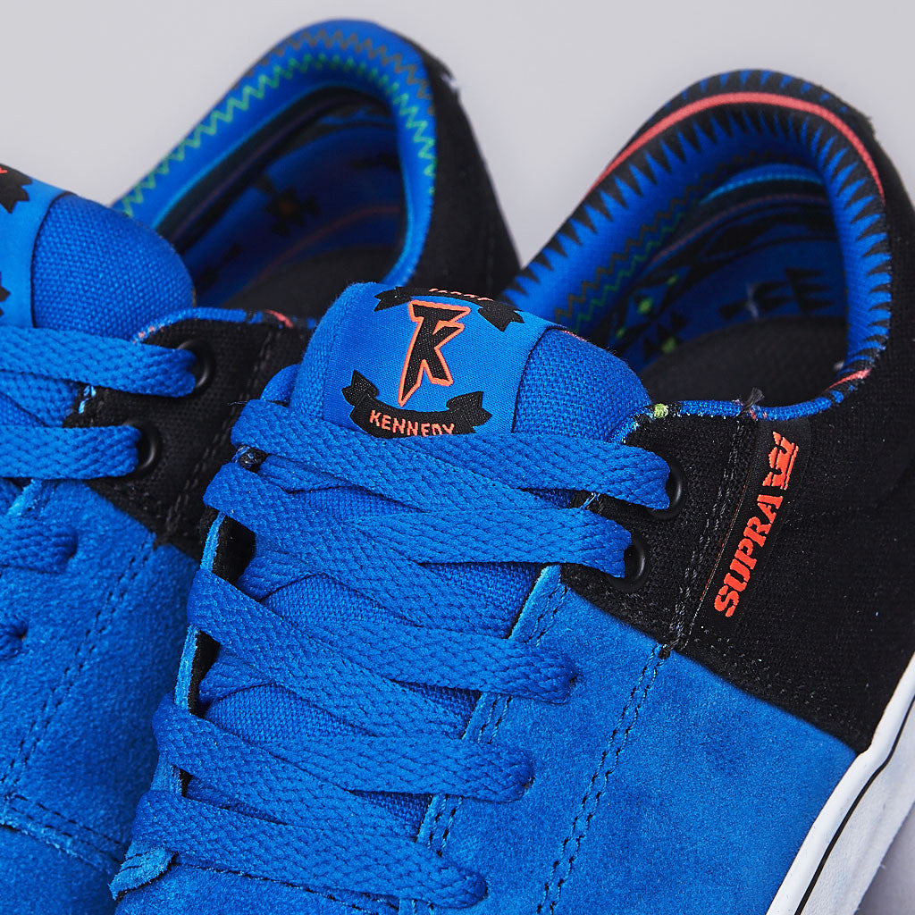 Supra Stacks Vulc Royal / Black / Neon Orange - White