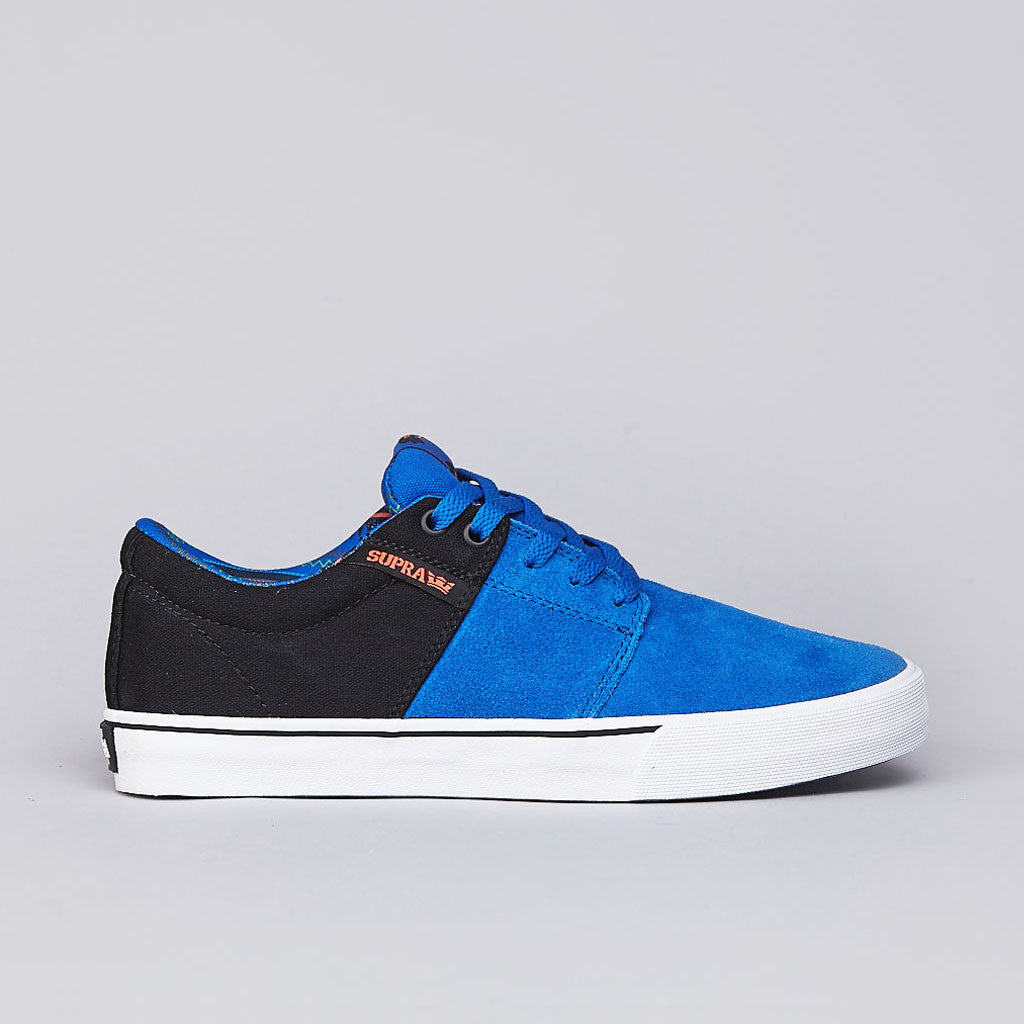 Supra Stacks Vulc Royal / Black / Neon Orange