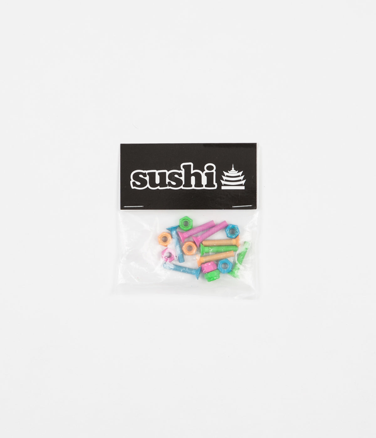 "Sushi Coloured 1"" Phillips Bolts"
