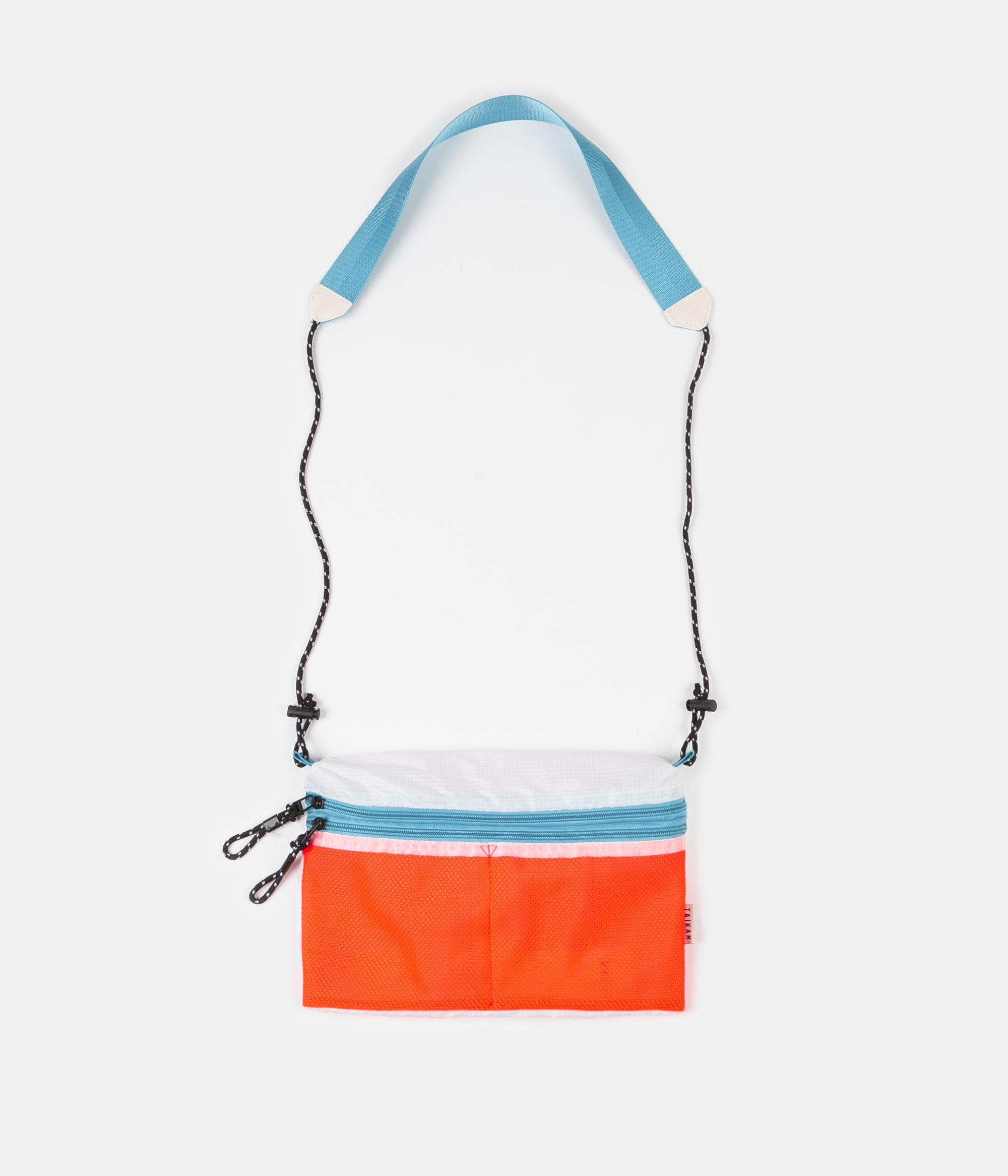 Taikan Everything Sacoche Bag - Orange / White / Teal - Large