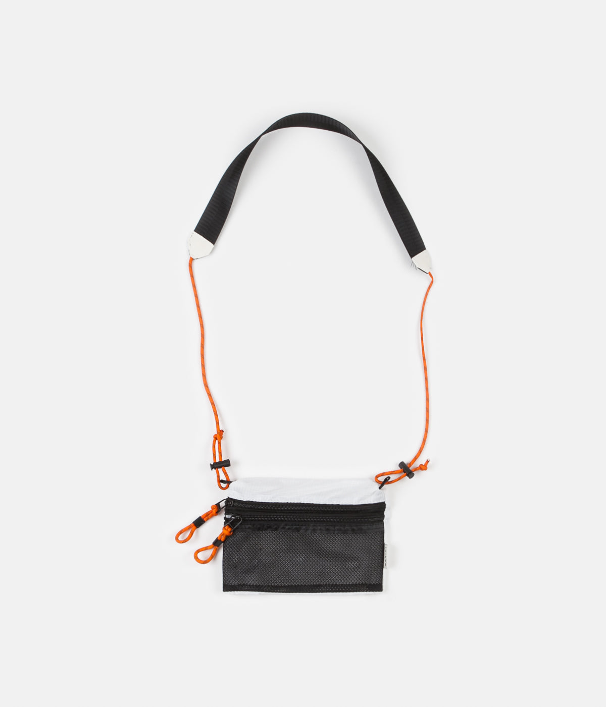 Taikan Everything Sacoche Bag - White / Black / Orange - Small