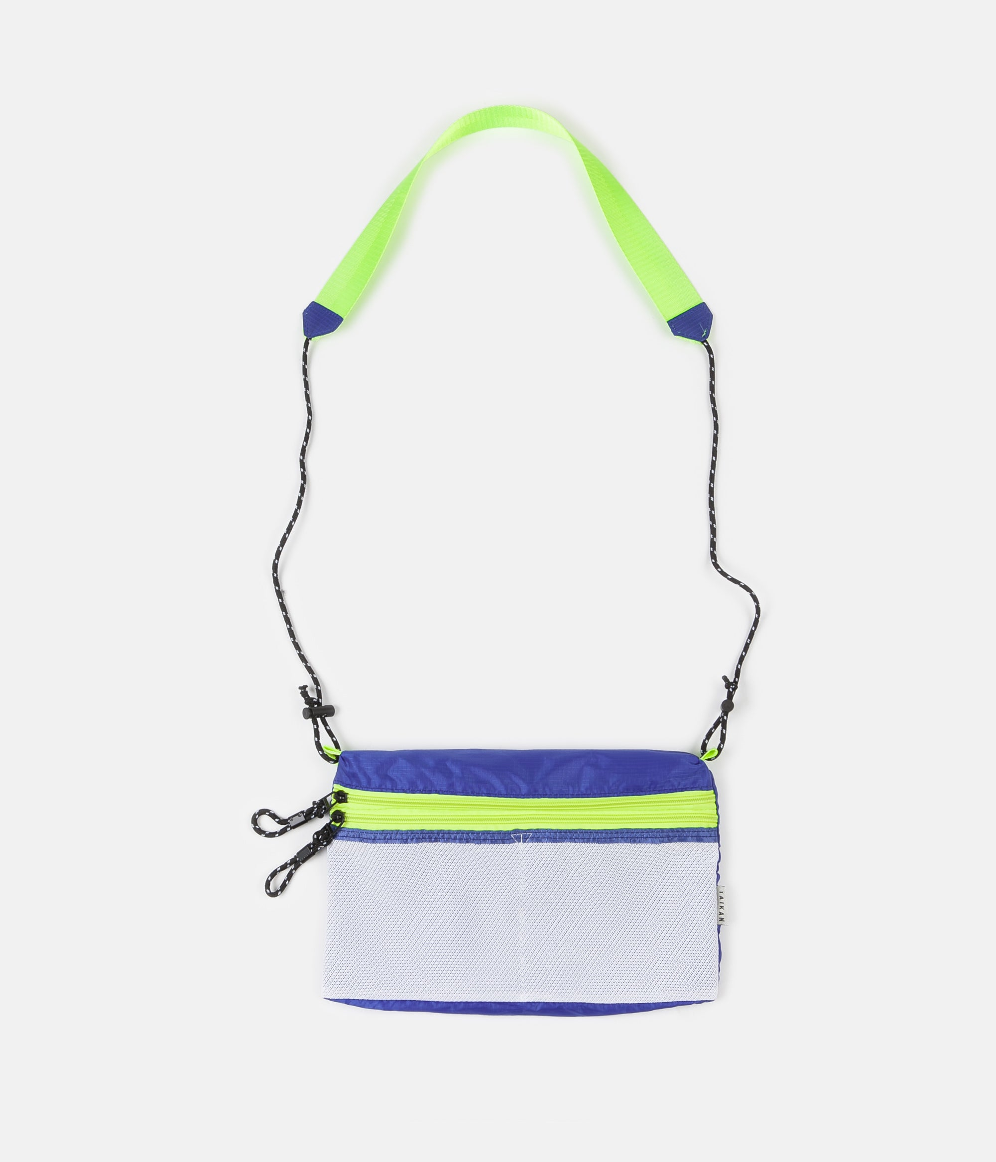Taikan Everything Sacoche Bag - White / Blue / Yellow - Large