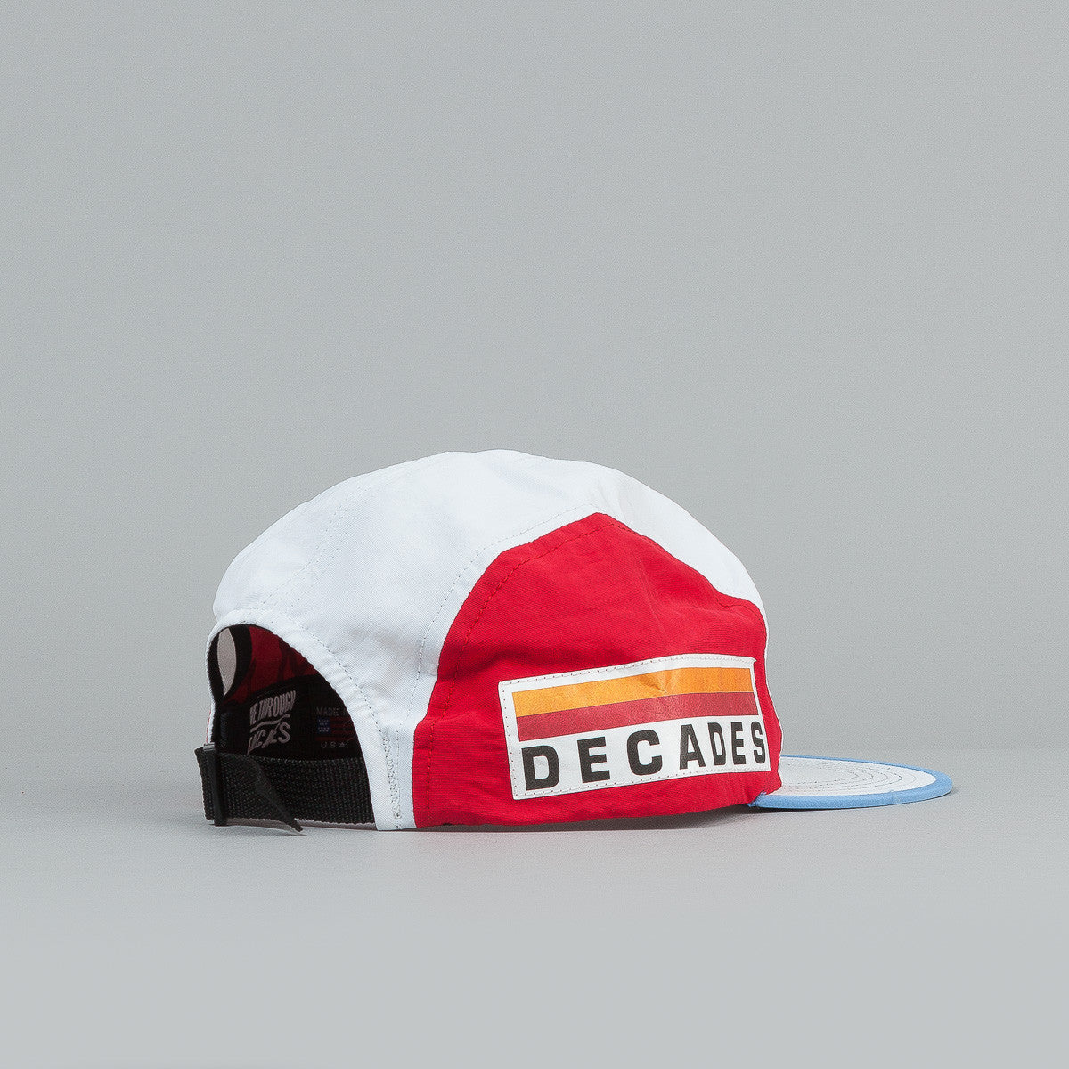 The Decades 92 Games 4 Panel Cap - White / Red / Light Blue