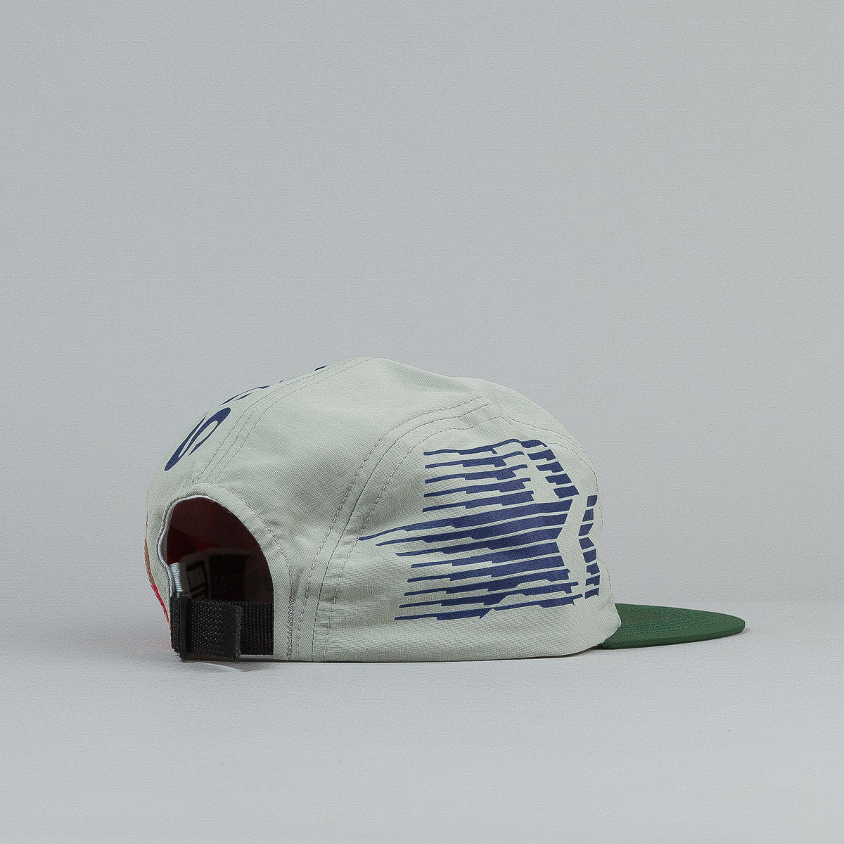 The Decades Barcelona 4 Panel Cap - Green