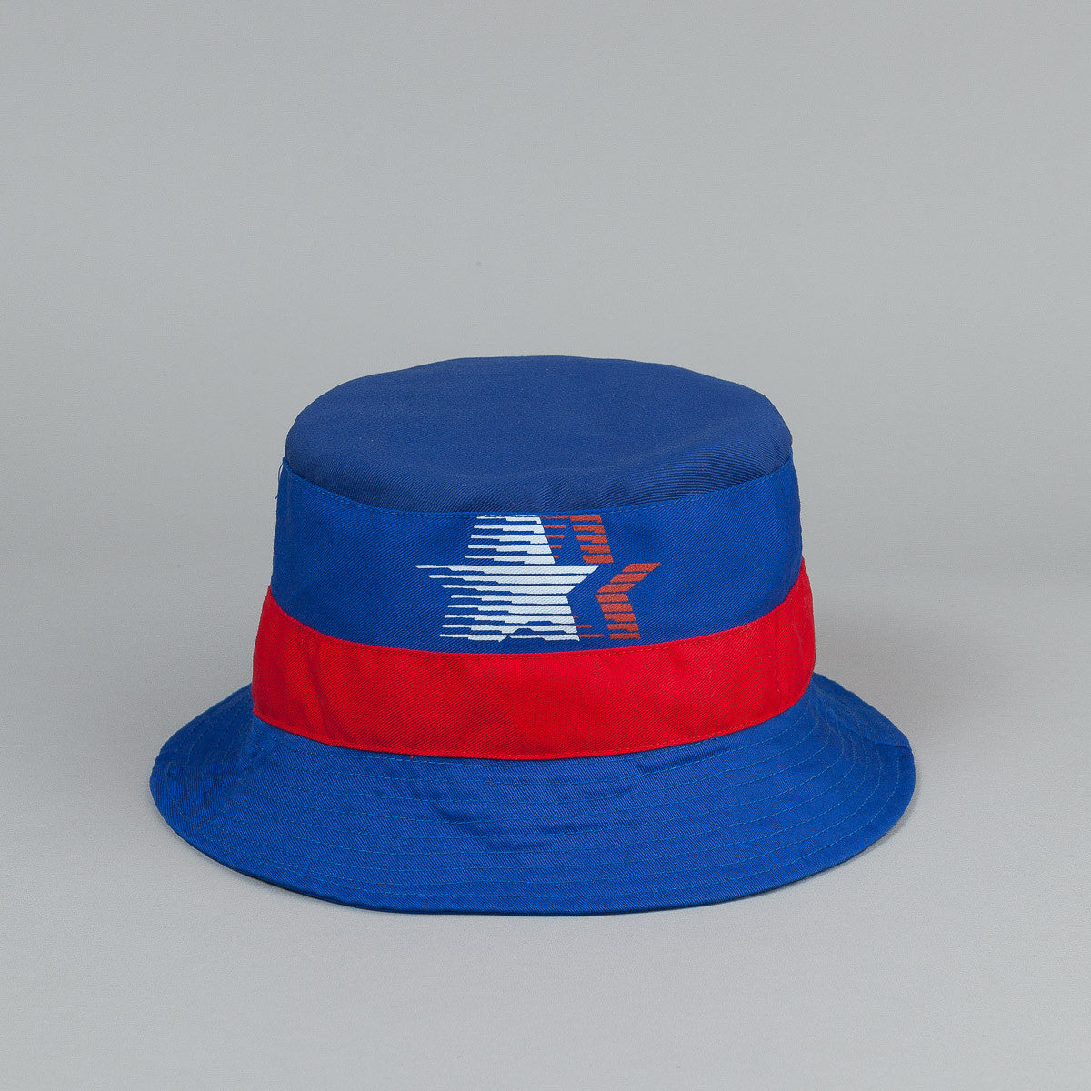 The Decades Contender Bucket Hat - Blue / Navy / Red