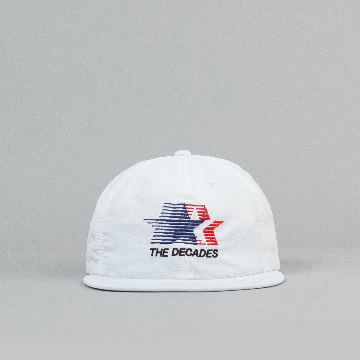 The Decades Contender Snapback Cap - White